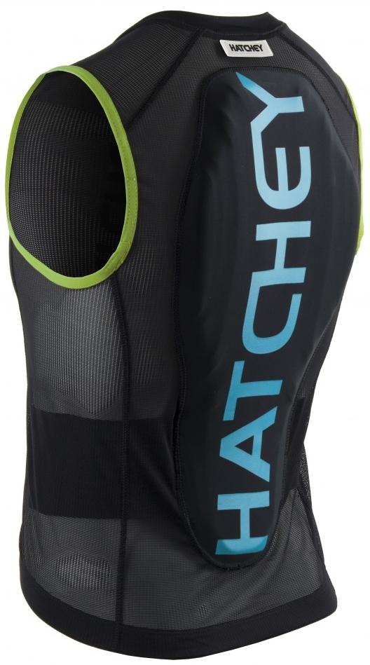 55f85148f3 Dětský chránič páteře Hatchey Vest Air Fit Junior - black green blue ...