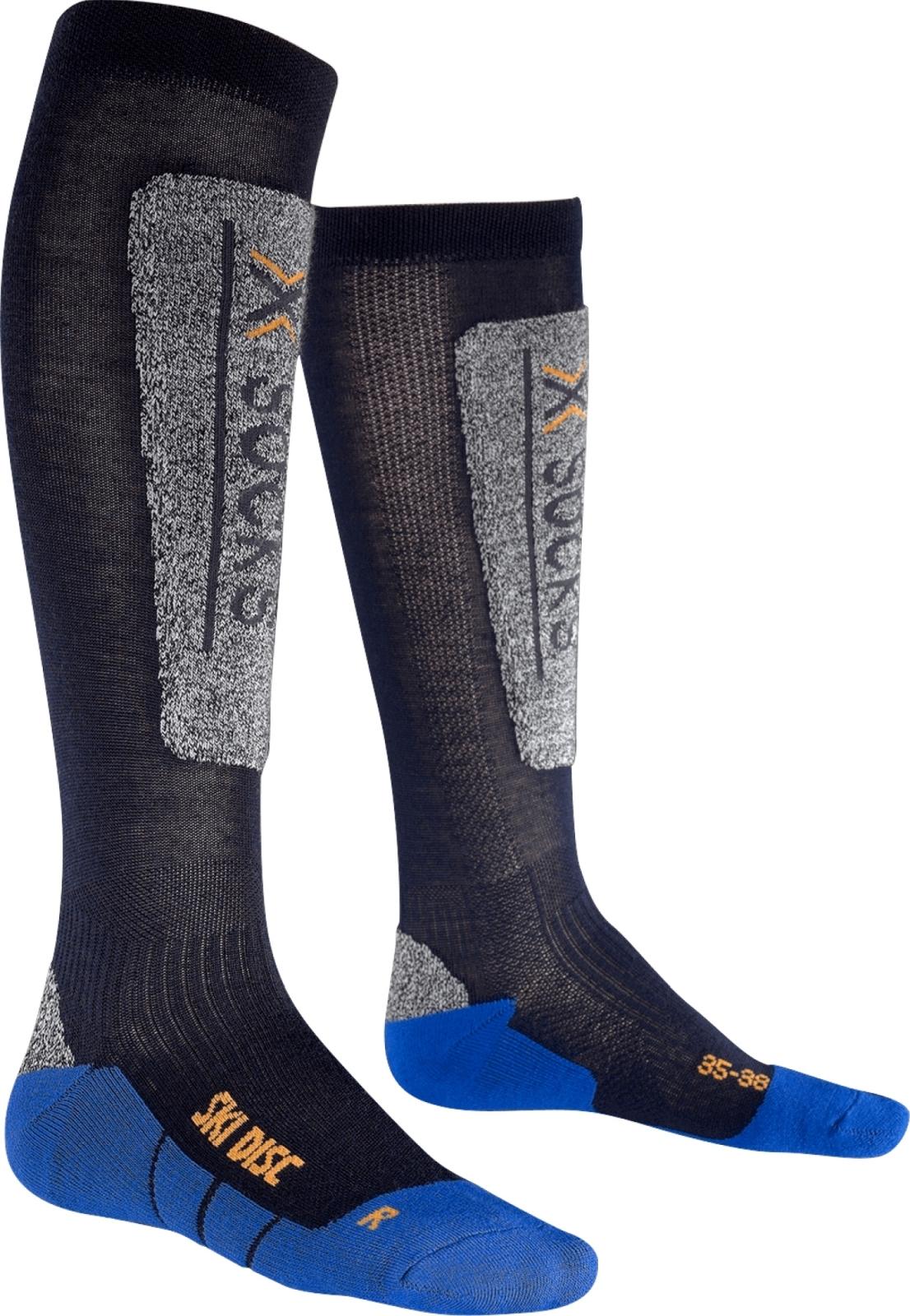 X-Socks Ski Discovery Junior Socks - Blue Marine/Cobalt Blue 24/26 X97