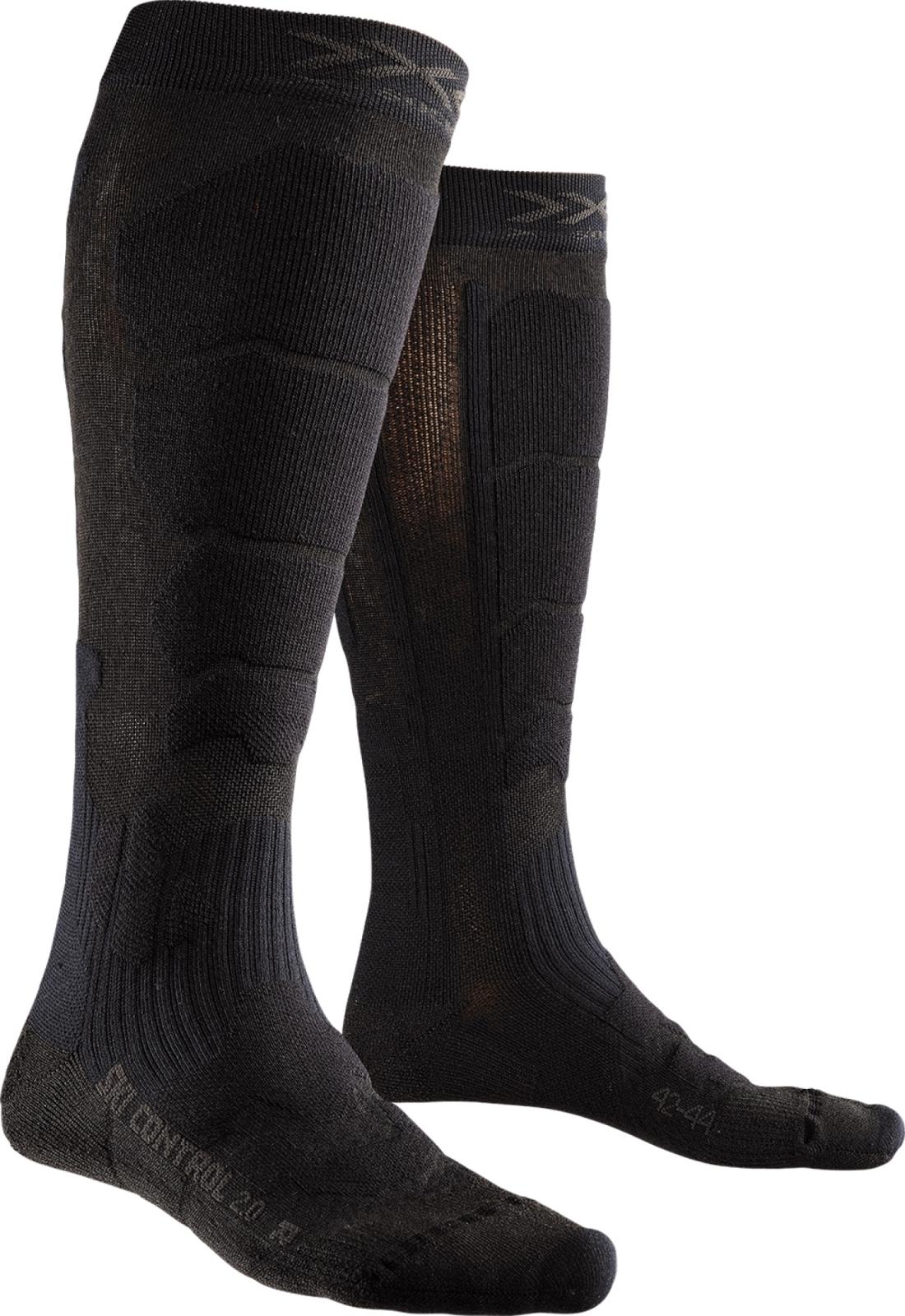 X-Socks Ski Control 2.0 Socks Men - Black/Black 35-38