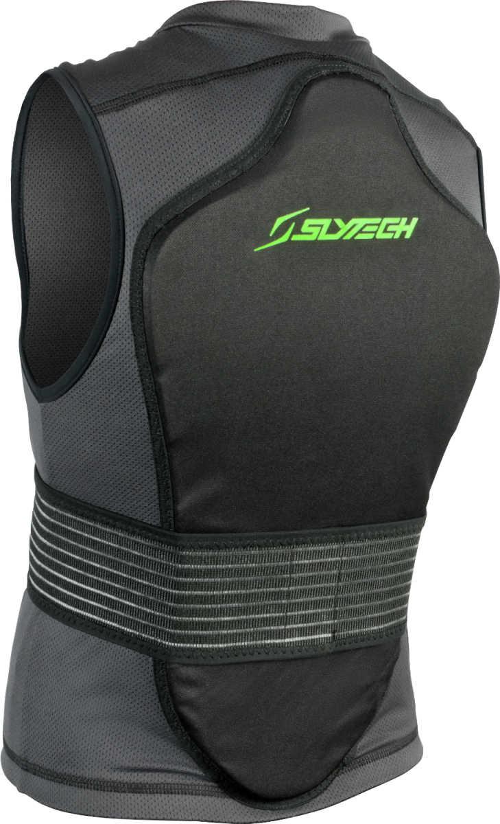 Dětský chránič páteře Slytech Vest Backpro One Mini - black/green XXS