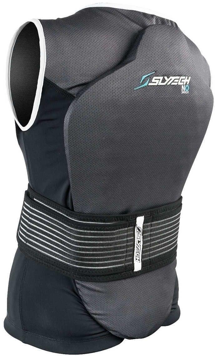 Slytech Vest Backpro Noshock XT W - black/white S